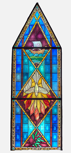 Stained Glass Pentecost